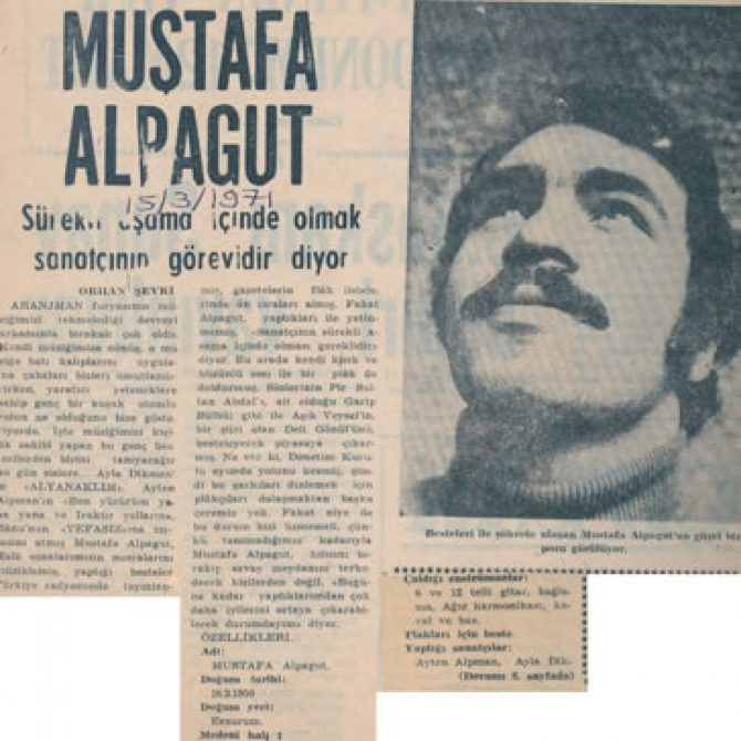 mustafa alpagut eski gazete küpür18