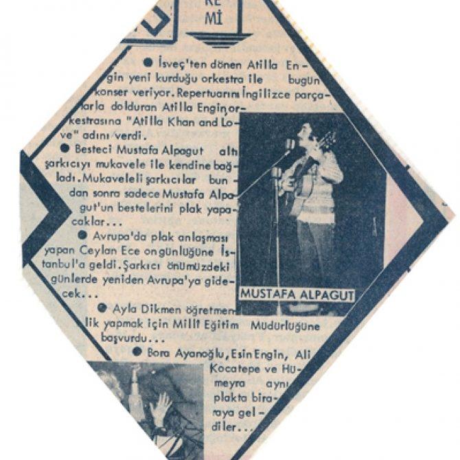 mustafa alpagut eski gazete küpür20